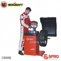 Máy cân mâm, cân bằng lốp ô tô Bright CB66B