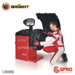 Máy cân mâm, cần bằng lốp ô tô Bright CB68B