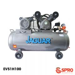 Máy nén khí piston 2HP 1 cấp Jaguar EV51H100-Dung tích 100L