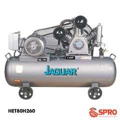 Máy bơm hơi 7.5HP Jaguar HET80H260 - Dung tích 260L