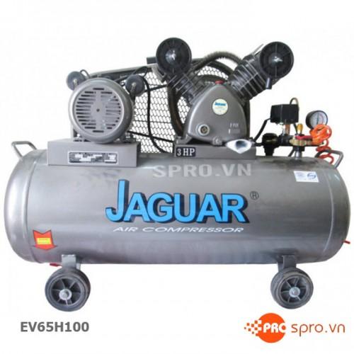 Máy nén khí piston 3HP 1 cấp Jaguar EV65H100 - Dung tích 100L
