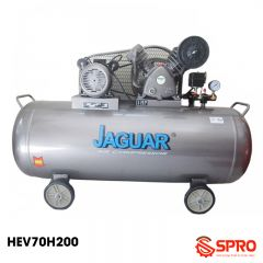 Máy nén khí piston jaguar 3HP HEV70H200 - Dung tích 200L