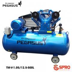 Máy bơm hơi 10HP Pegasus TM-W-1.05/12.5-500 dung tích 500L