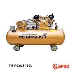 Máy bơm hơi 5.5HP Pegasus TM-V-0.6/8-180 - Dung tích 180L