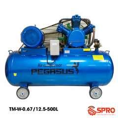 Máy nén khí 7.5HP Pegasus TM-W-0.67/12.5-500 - Dung tích 500L
