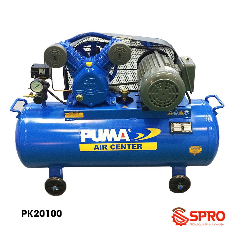 Máy nén khí piston 2HP Puma PK20100 - Dung tích 100 lít