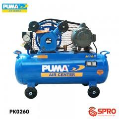Máy nén khí piston 1/2HP 1 cấp Puma PK0260 - Dung tích 60L