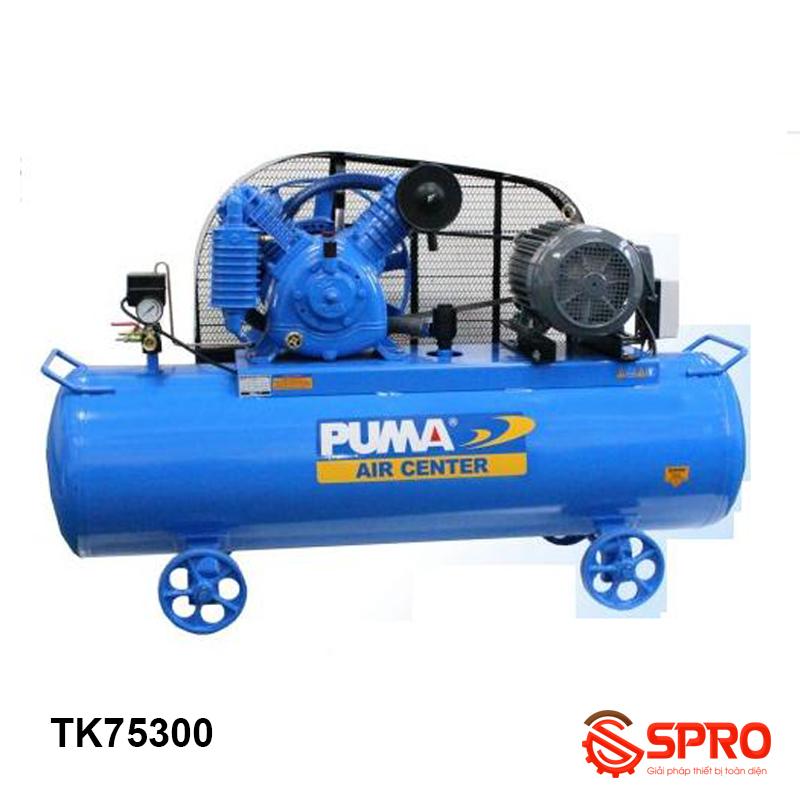 Máy nén khí piston 7.5HP Puma TK75300 - Dung tích 300L