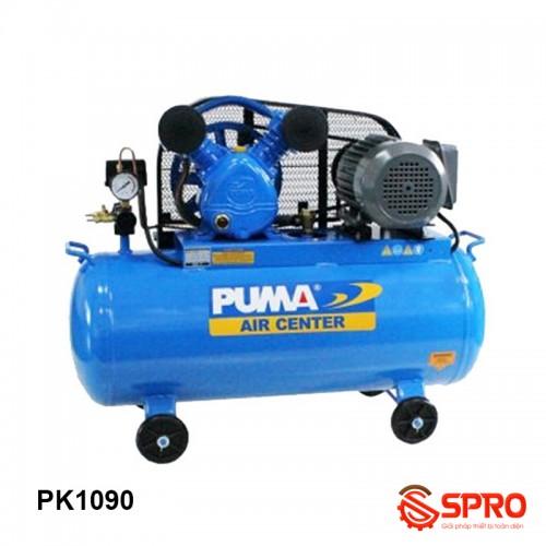 Máy nén khí piston 1HP Puma PK1090 bình chứa 90 lít