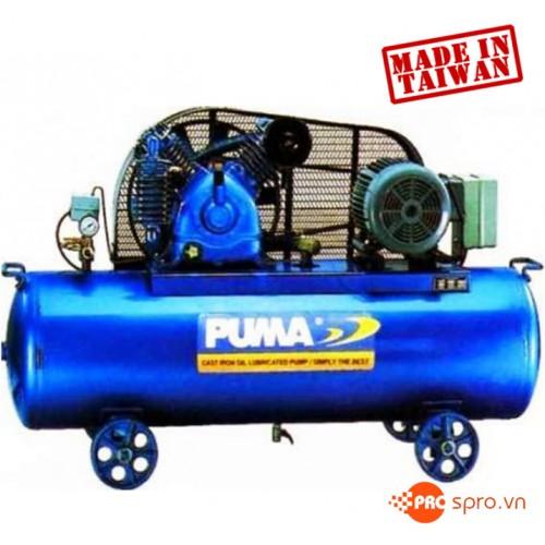Máy nén khí piston 3HP 1 cấp Puma PK30120 - Dung tích 120L