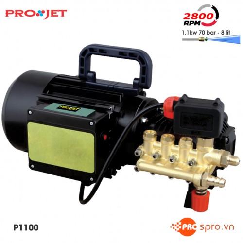Máy rửa xe gia đình, phun xịt rửa mini Projet P1100