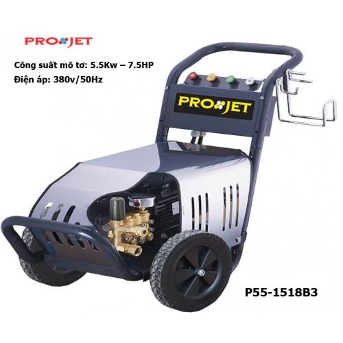 Máy xịt rửa công nghiệp Projet P55-1518B3 - Công suất 5.5kw