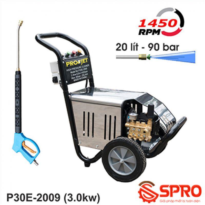 Máy rửa xe ô tô cao áp Projet P30E-2009 - Công suất 3.0Kw