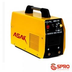 Máy hàn điện tử mini ASAK MMA-200B que hàn 2.5 - 4.0mm