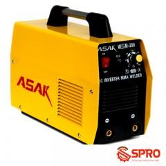 Máy hàn điện tử mini ASAK WSM-250 que hàn 2.5 - 5.0mm
