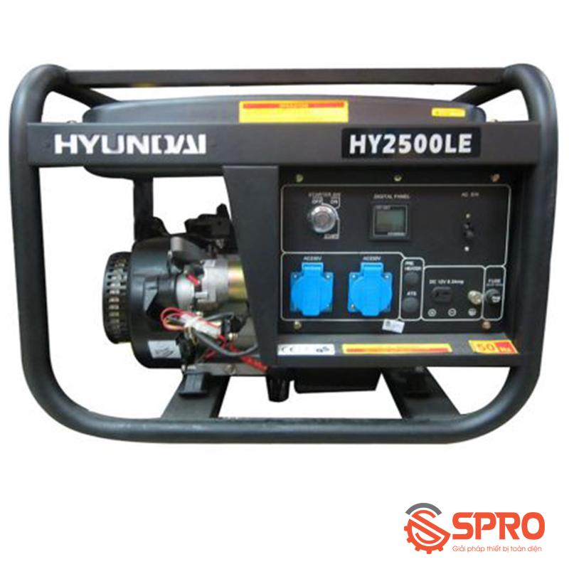 Máy phát điện chạy xăng Hyundai 2kw HY-2500LE