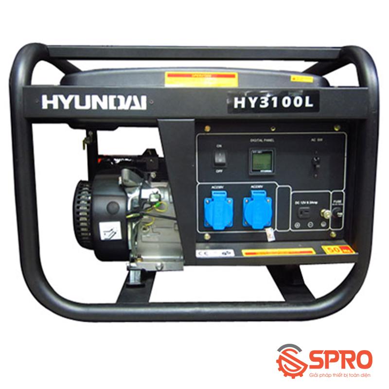 Máy phát điện chạy xăng Hyundai 2.5 Kw HY-3100L