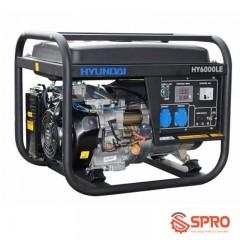 Máy phát điện chạy xăng Hyundai 4 Kw HY-6000L