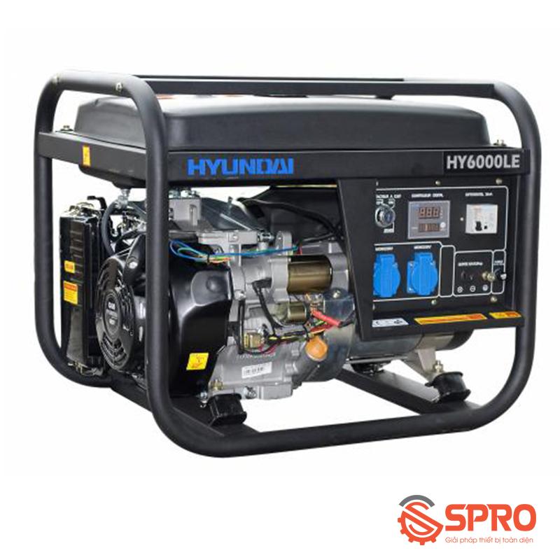 Máy phát điện chạy xăng Hyundai 4 Kw HY-6000LE