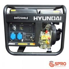 Máy phát điện chạy dầu Hyundai 2Kw DHY-2500LE