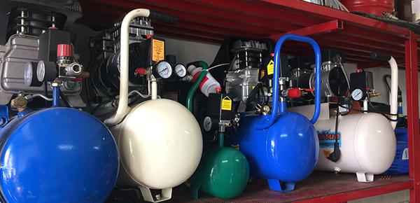 Máy nén khí không dầu giảm âm giá rẻ