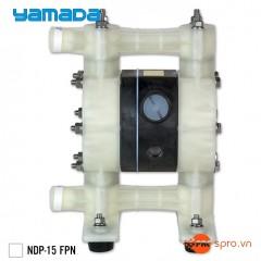 """Máy bơm màng khí nén yamada NDP-15 FPN - Đầu hút và đẩy 1/2"""""""