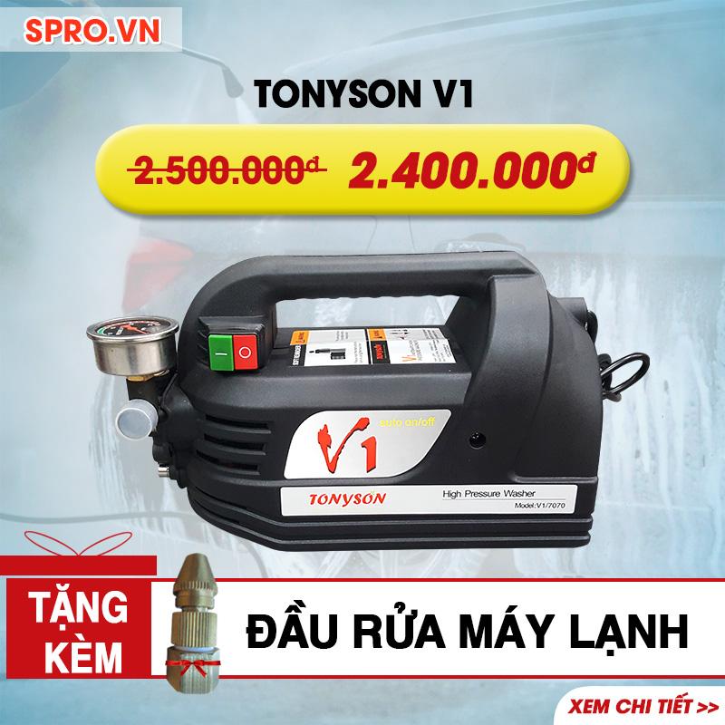 Máy rửa xe gia đình, vệ sinh máy lạnh Tonyson V1