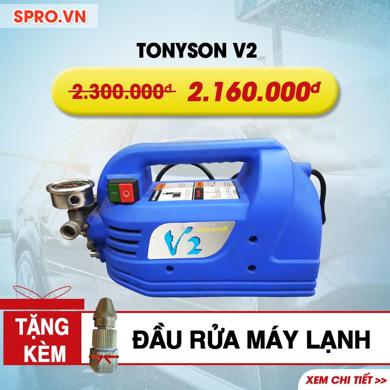 Máy rửa xe gia đình, vệ sinh máy lạnh Tonyson V2