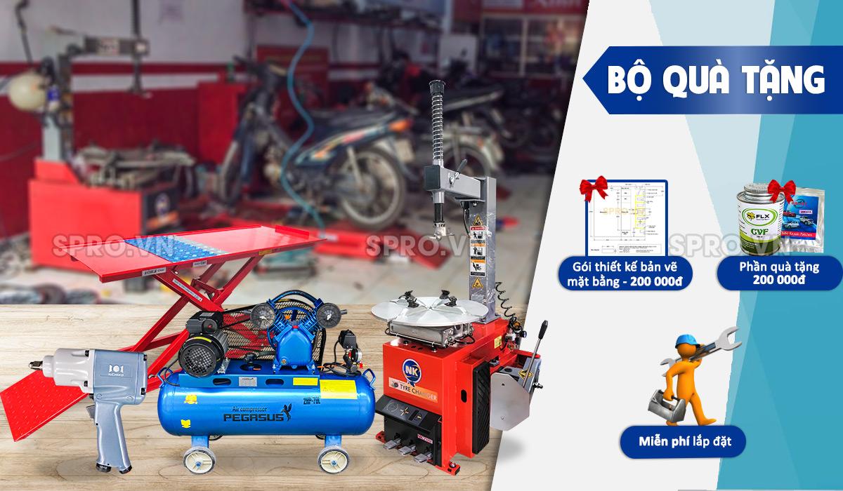 Trọn bộ đồ nghề sửa xe máy –Gói cơ bản giá rẻ