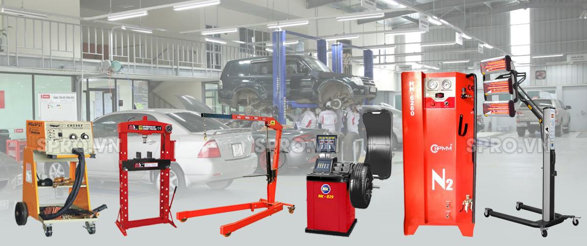 Trọn thiết bị sửa chữa xe ô tô chuyên nghiệp