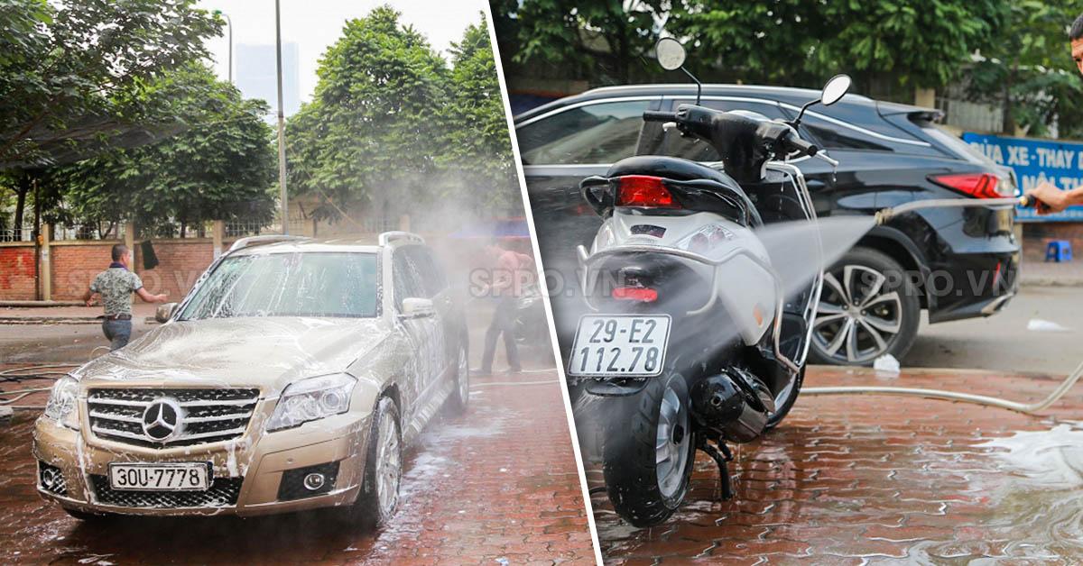 thiết bị rửa xe tại tp.hcm