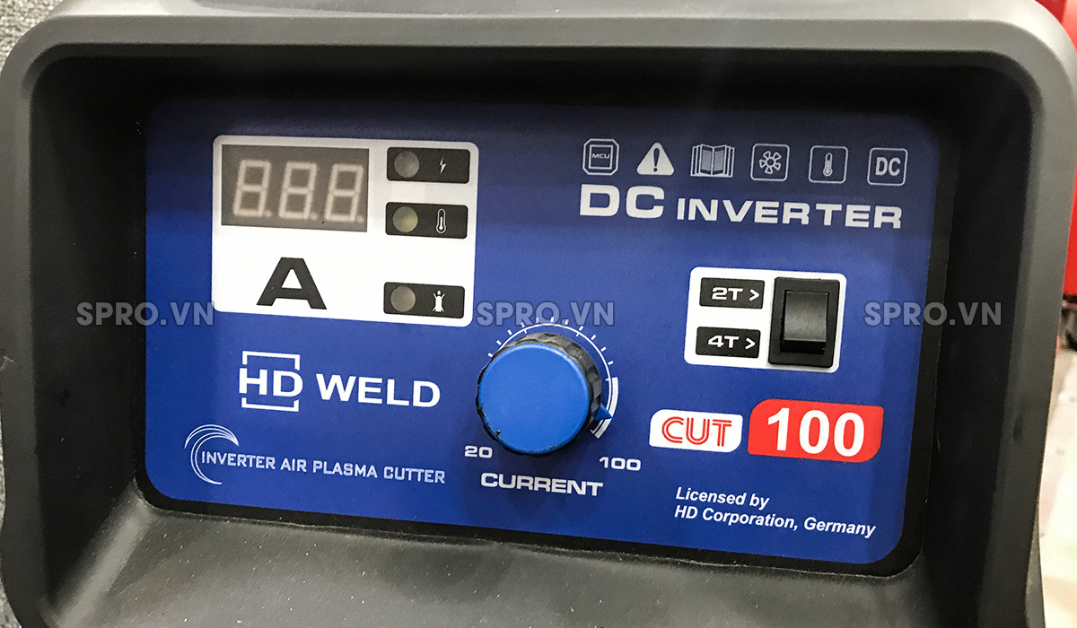 Máy cắt Plasma CUT 100 3 pha 380V