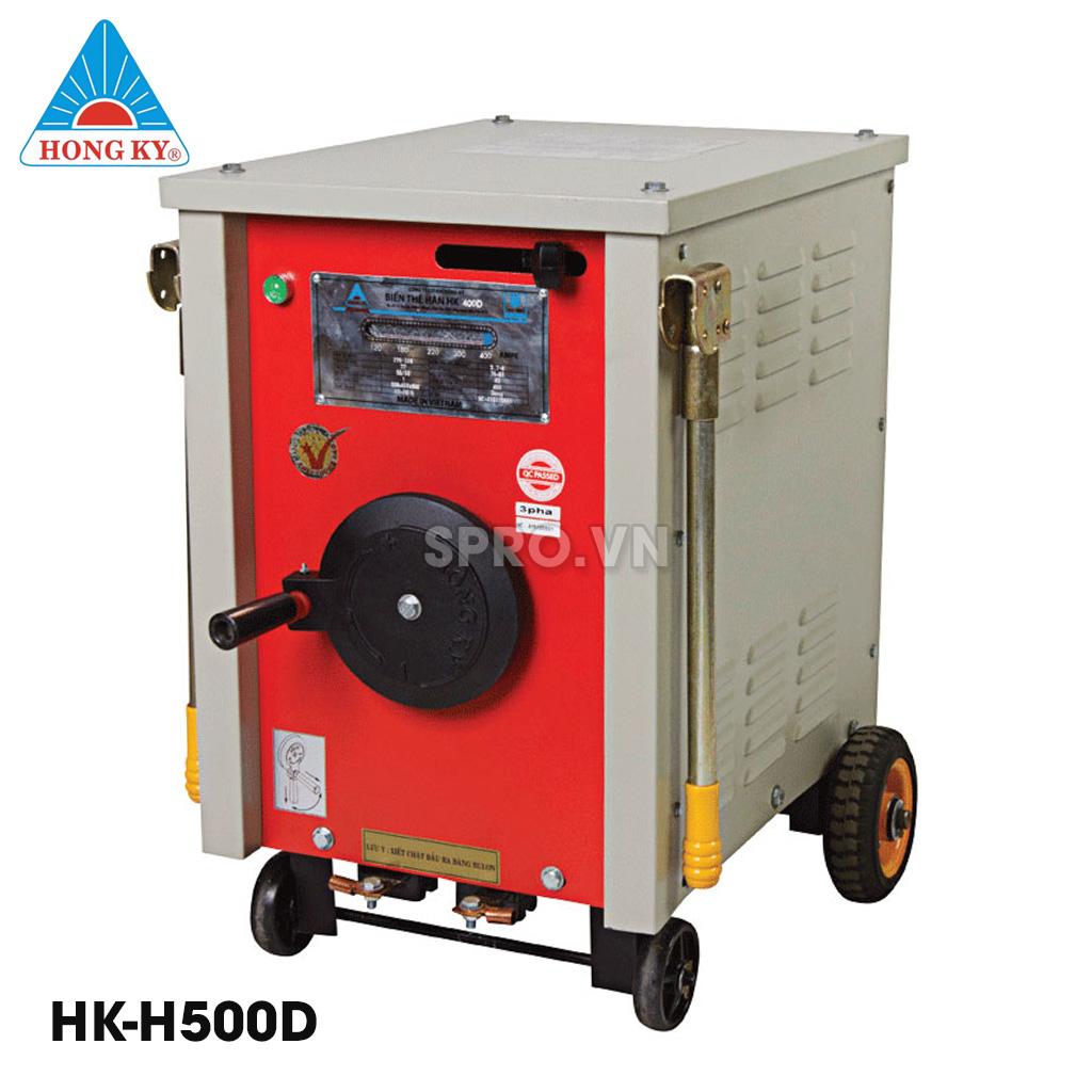 Máy biến thế hàn hồng ký HK H500D điện áp 80-85V