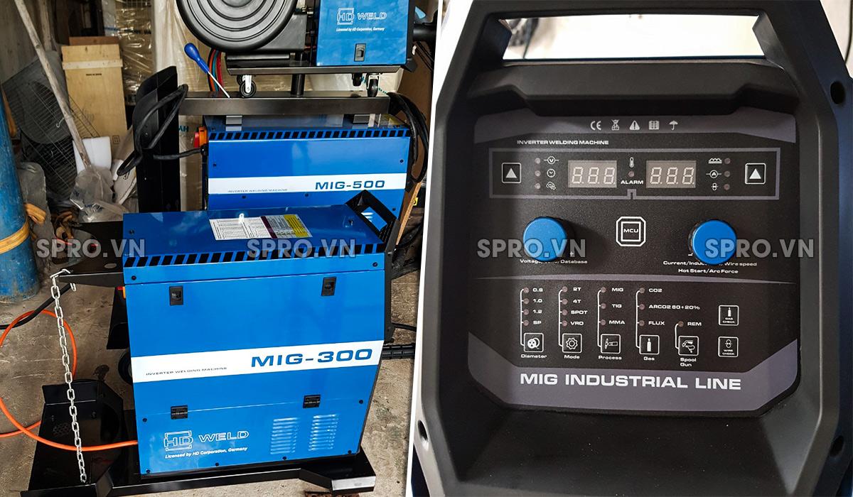 may han cong nghiep digital hd weld mig 300a spro Mua máy hàn công nghiệp nhập khẩu giá rẻ chính hãng 2019