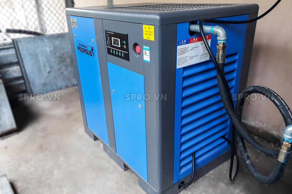 Máy nén khí trục vít 15HP giá rẻ PEGASUS TMPM15A 11kw giá rẻ