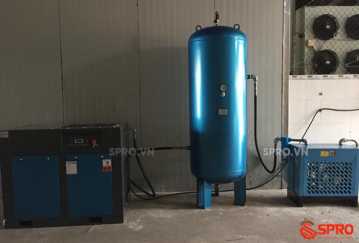 hệ thống Máy nén khí trục vít 30HP PEGASUS TMPM30A 22kw giá rẻ
