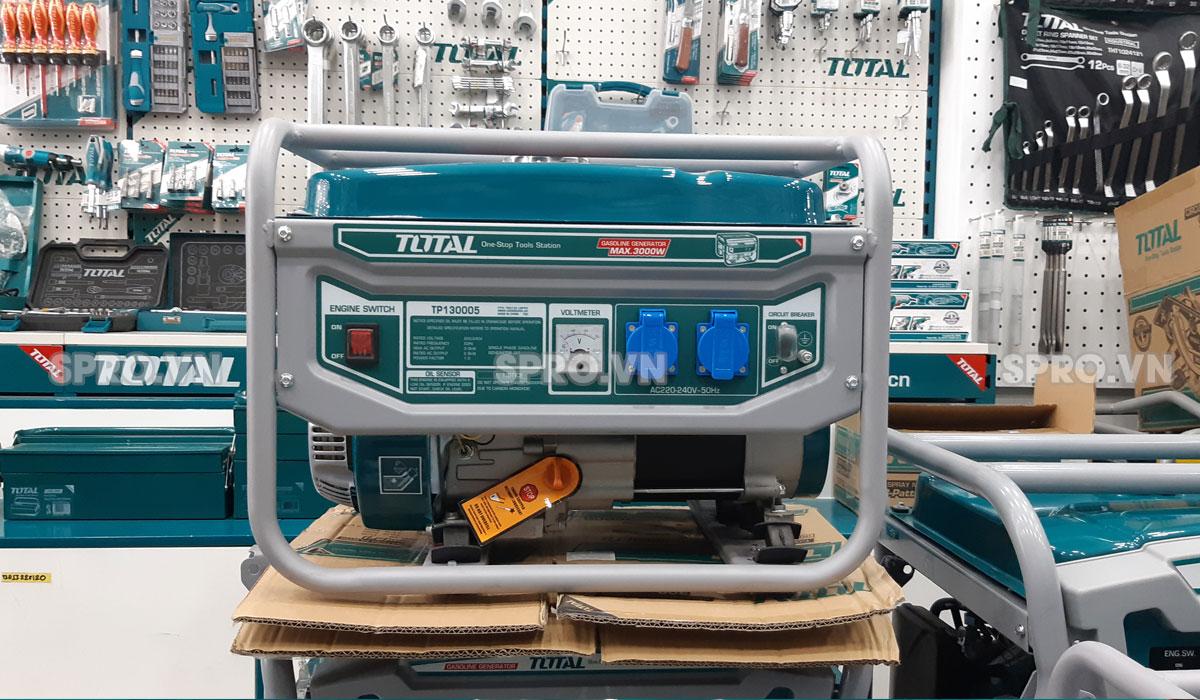 Máy phát điện chạy xăng Total TP130005