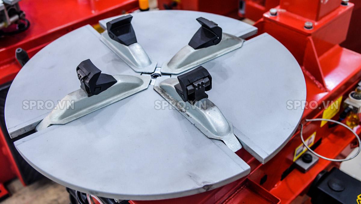 Máy tháo vỏ ô tô và xe tay ga, máy ra vào lốp Bright LC810E