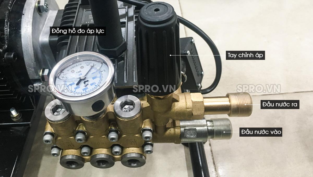 Máy xịt rửa xe cao áp Himore 0719