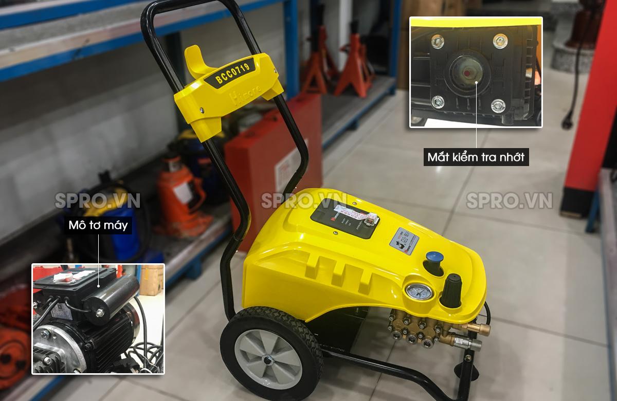Máy phun rửa xe áp lực cao Himore 0719 - 2.5kW, 70bar, 19L/phút