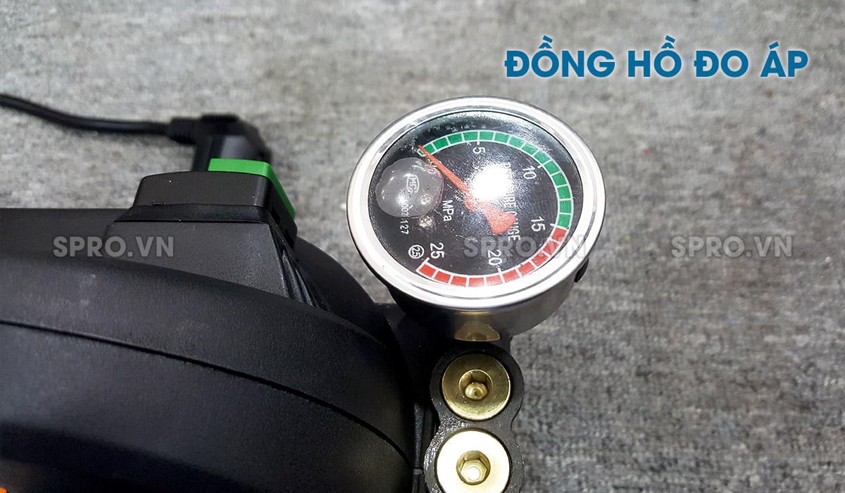 Đồng hồ đo lưu lượng của máy rửa xe mini