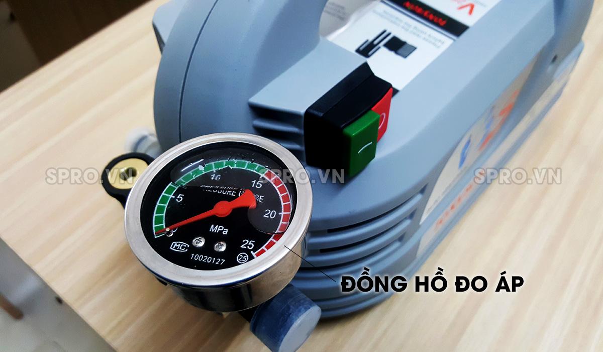 Đồng hồ đo áp của máy rửa xe gia đình Tonyson V2S