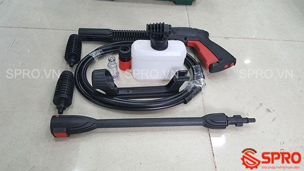 Phụ kiện máy rửa xe cao áp mini