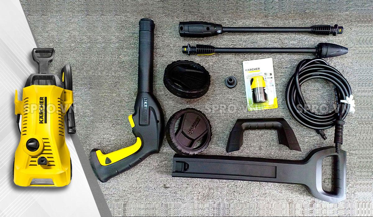 phụ kiện của máy xịt rửa xe gia đình K2 Full Control Car & PS 20 *EU
