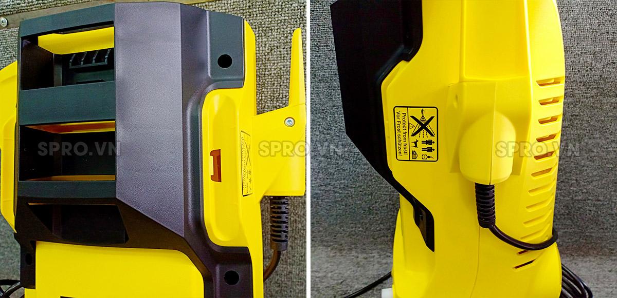 Cấu tạo của máy xịt rửa gia đình Karcher K2 car and home full control