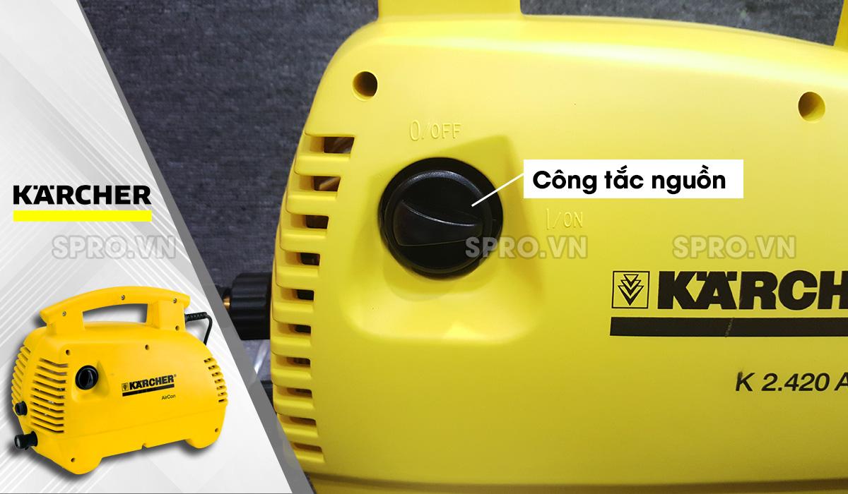 Công tắc máy rửa xe gia đình Karcher K 2.420 Air Con