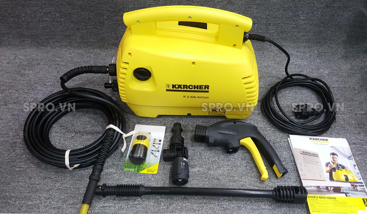 phụ kiện của máy rửa xe mini Karcher K2.420 Air Con