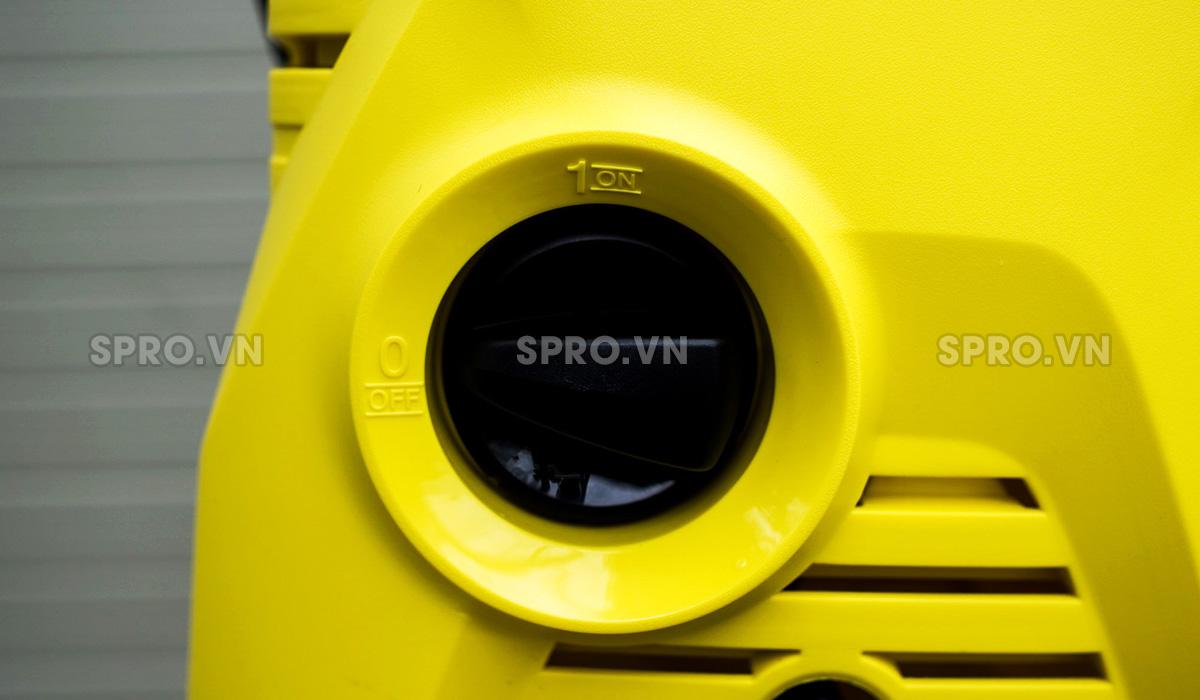 công tắc của máy rửa xe Karcher K2 Compact Car
