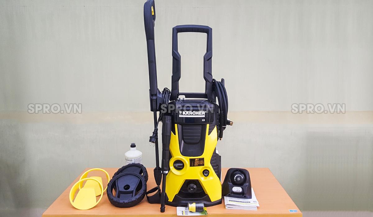 Các bộ phận của máy rửa xe mini Karcher K 5