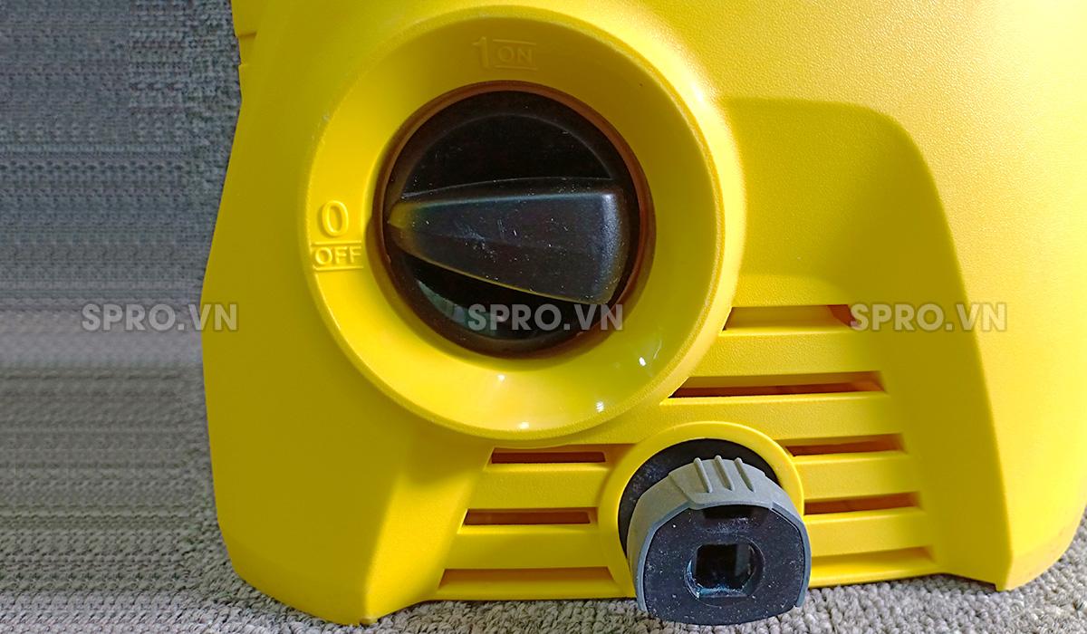 Công tắc nguồn của máy xịt rửa xe gia đình KARCHER K2 Basic OJ